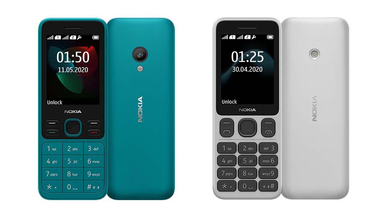 HMD Global ra mắt Nokia 125 và Nokia 150 (2020),kiểu dáng hoài cổ, giá khoảng 600.000 đồng