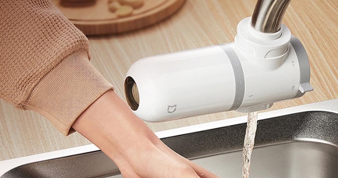Xiaomi ra thiết bị lọc nước đầu vòi: Nhỏ gọn, dễ lắp đặt, bộ lọc than hoạt tính, giá 490.000 đồng