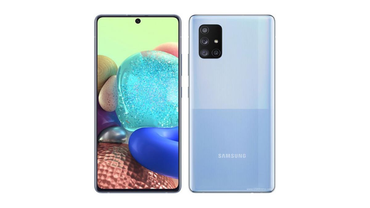 Samsung trình làng chiếc smartphone Galaxy A Quantum với công nghệ mã hóa lượng tử