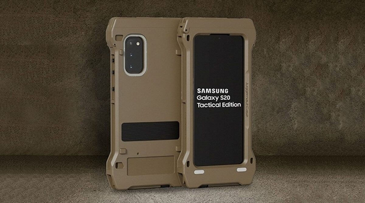 Samsung ra mắt Galaxy S20 phiên bản Tactical Edition siêu bền đạt chuẩn quân đội Mỹ
