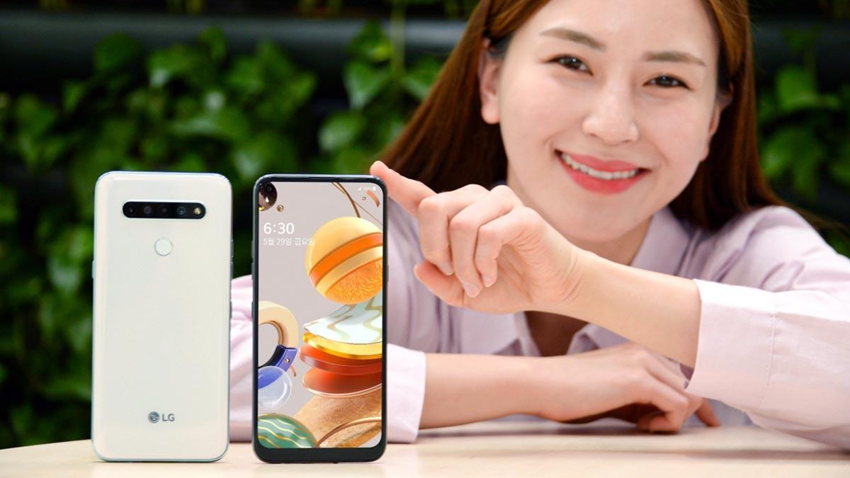 LG Q61 ra mắt với thiết kế màn hình đục lỗ, chip Helio P35, 4 camera, giá 7 triệu đồng