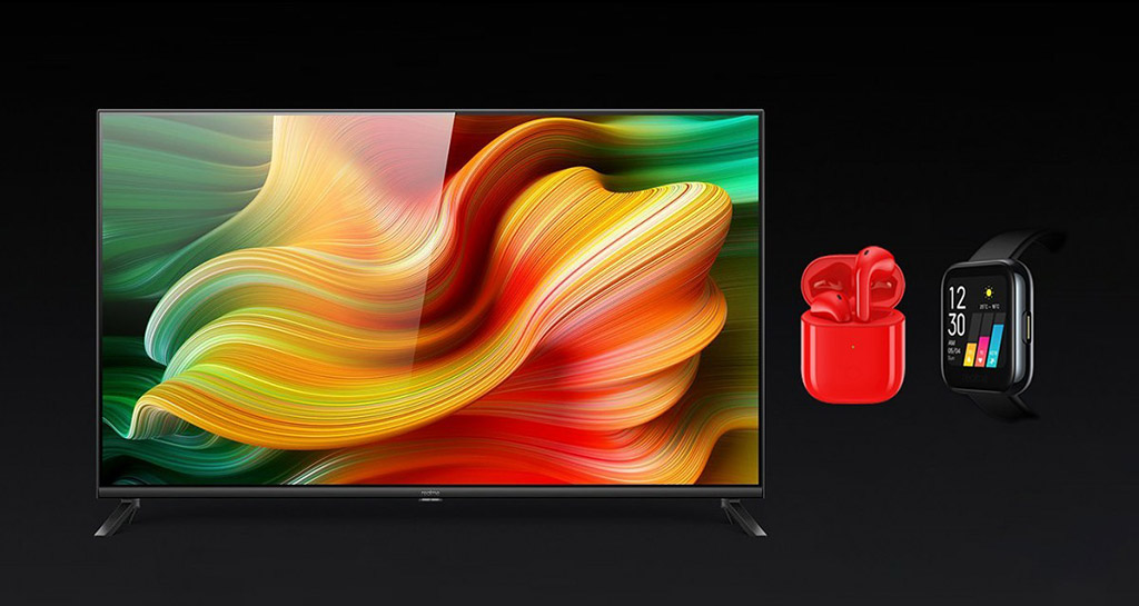 Realme ra mắt Realme Smart TV, Realme Watch và Realme Buds Air Neo