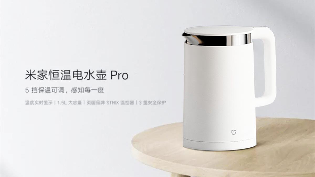 Xiaomi ra mắt ấm đun nước thông minh: 1800W, màn hình hiển thị nhiệt độ, giá 810.000 đồng