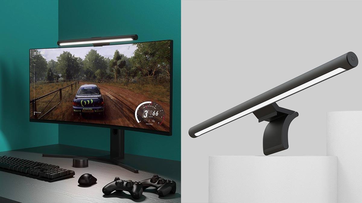 Xiaomi ra mắt đèn treo màn hình: Chỉ số hoàn màu cao, không bị lóa, điều khiển từ xa, giá 650.000 đồng