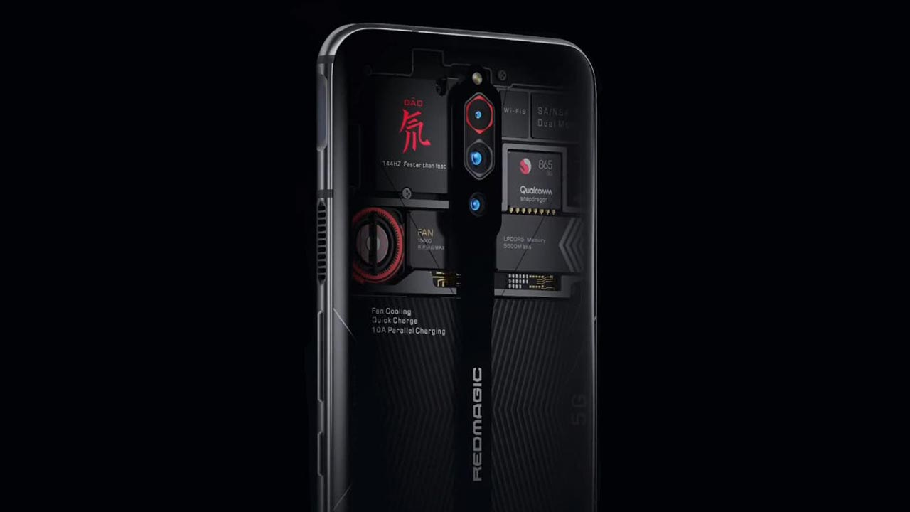 Nubia Red Magic 5G chính thức ra mắt phiên bản mặt lưng trong suốt, 16GB RAM, giá 17 triệu đồng