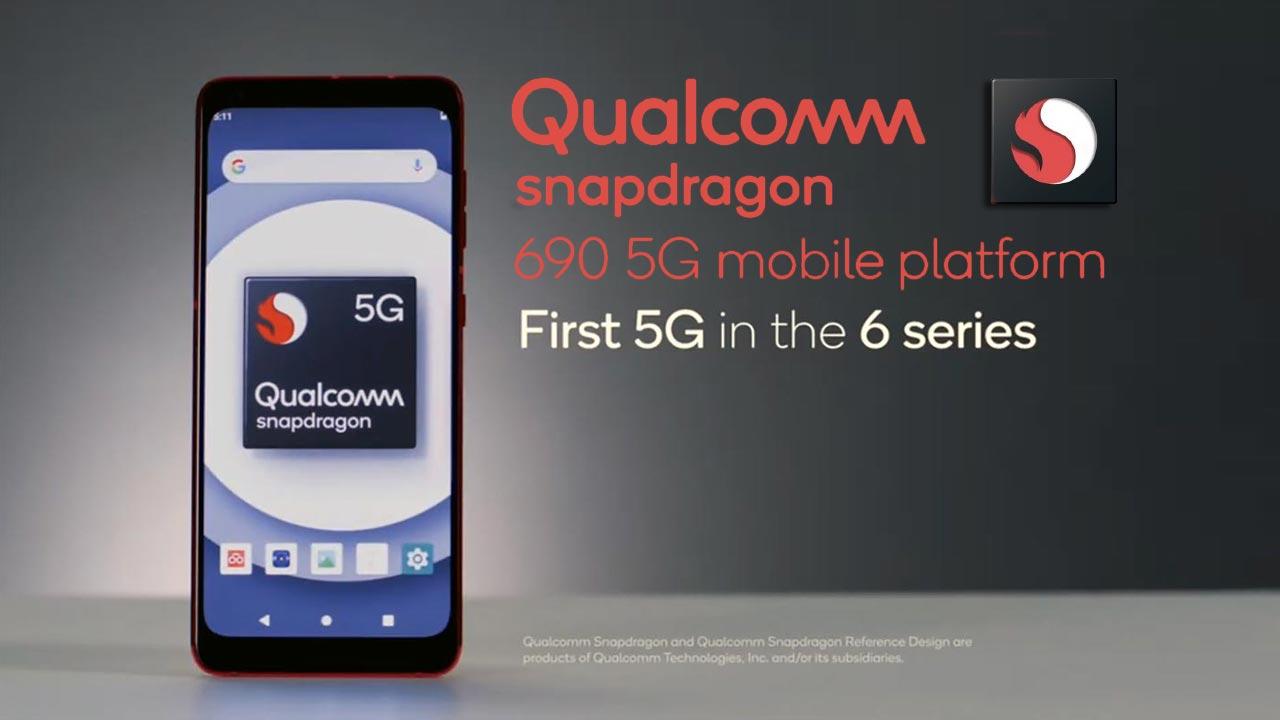 Qualcomm ra mắt bộ vi xử lý Snapdragon 690 giúp mang công nghệ 5G đến với smartphone giá rẻ