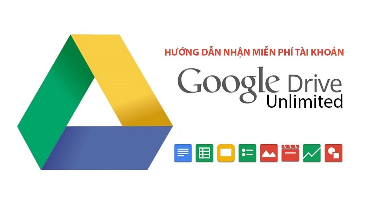 Hướng dẫn đăng ký nhận Google Drive miễn phí không giới hạn dung lượng cực kỳ đơn giản