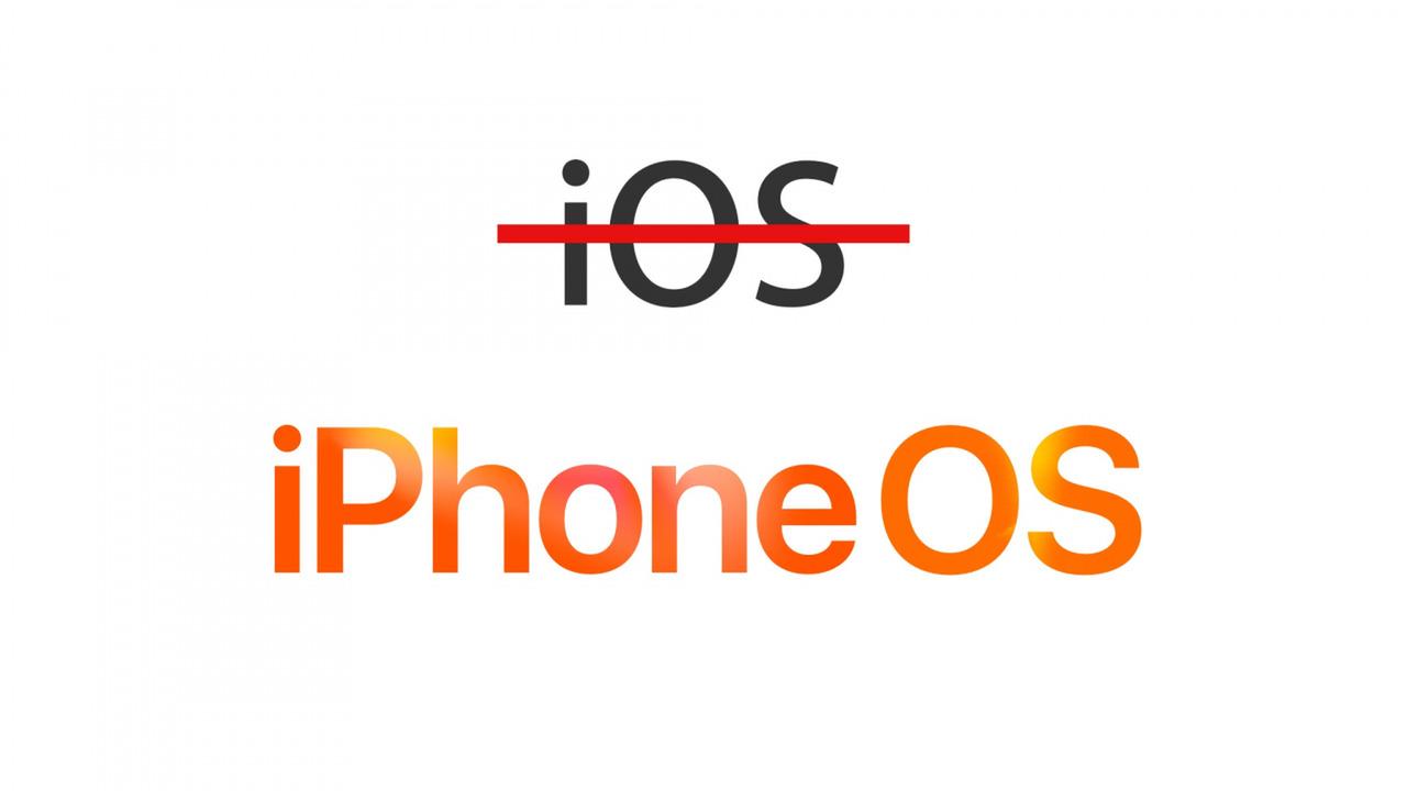 Apple sẽ đổi tên iOS thành iPhone OS, iPhone thành Apple Phone?
