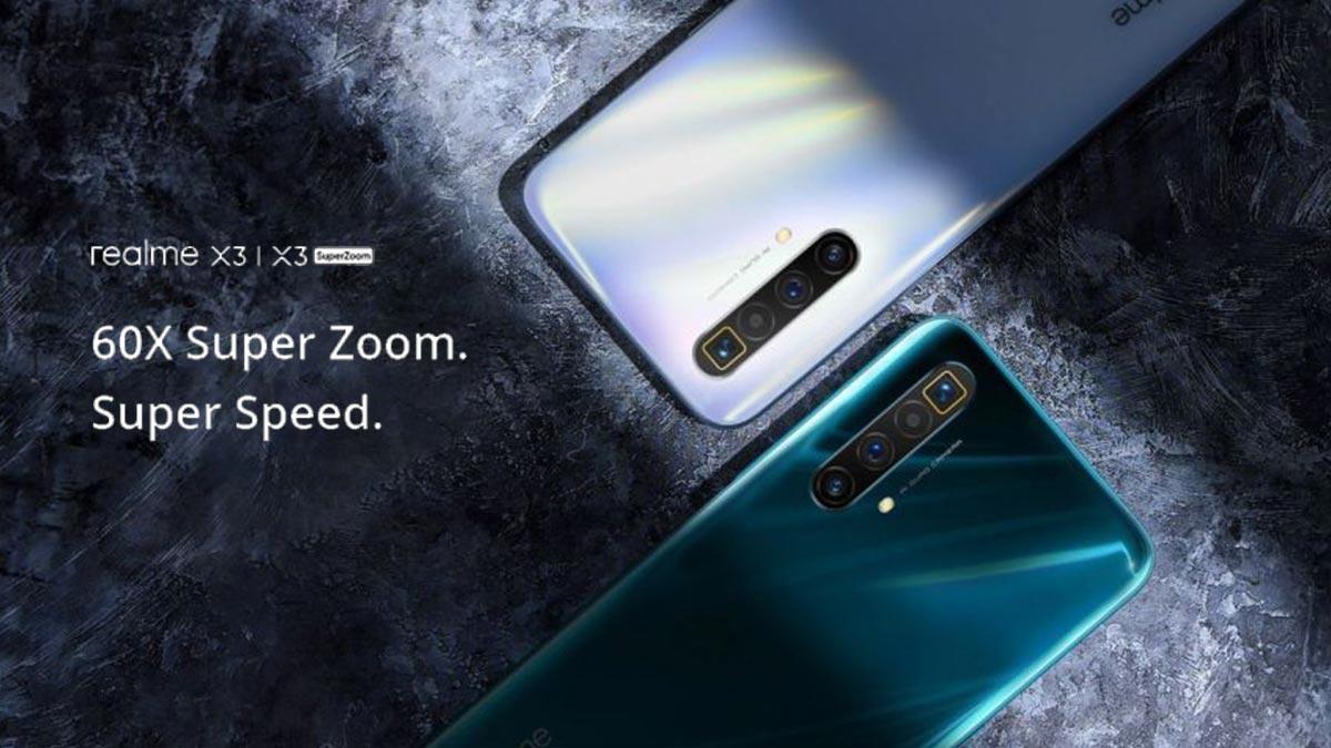 Realme X3 và X3 SuperZoom ra mắt: Màn hình 120Hz, Snapdragon 855+, 4 camera sau 64MP, giá từ 7.7 triệu đồng