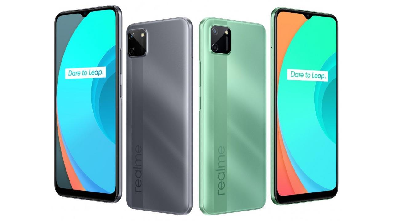 OPPO ra mắt Realme C11 với chip Helio G35, màn hình giọt nước, pin 5000mAh, giá 2.3 triệu đồng