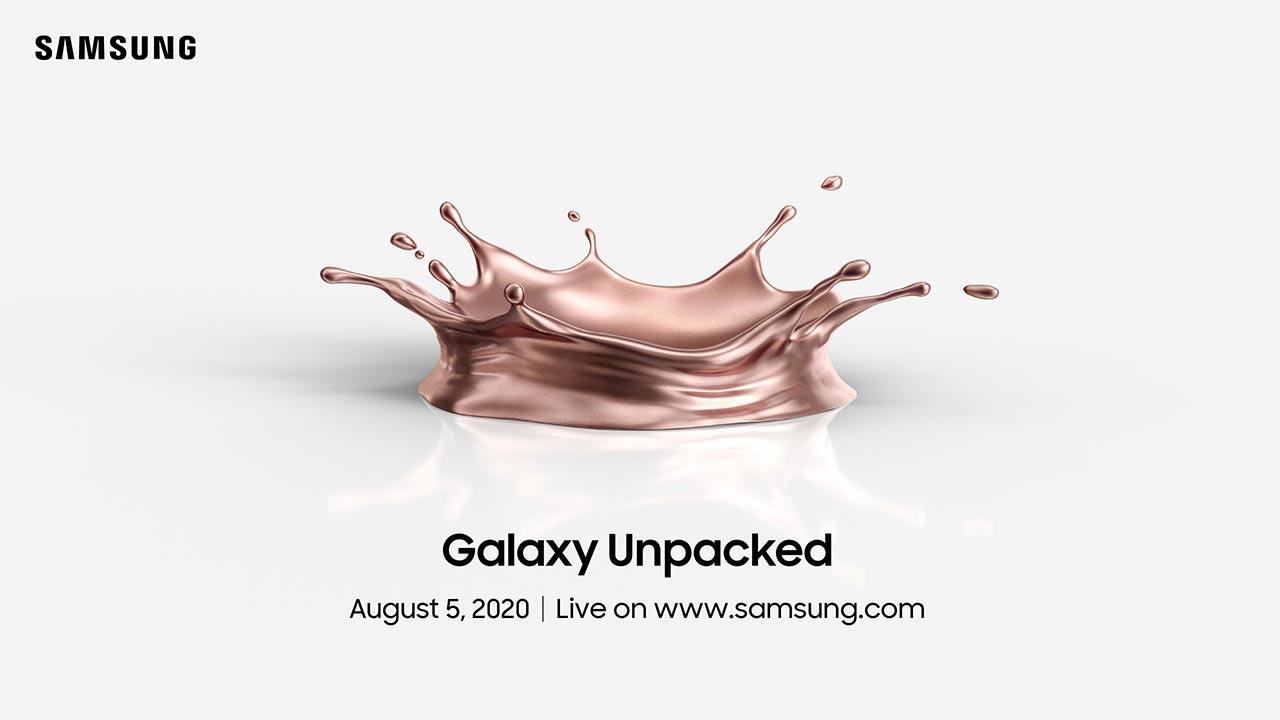 Samsung chính thức gửi thư mời tham gia sự kiện Unpacked 2020 sẽ diễn ra vào ngày 5 tháng 8