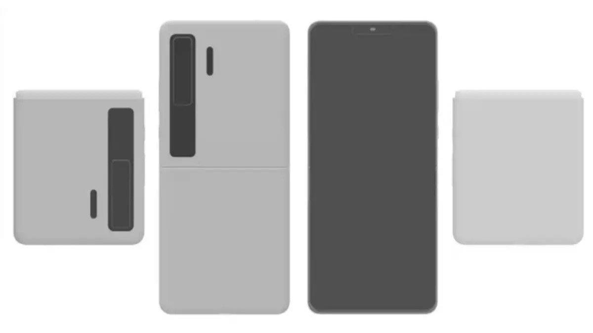 Lộ thông tin smartphone màn hình gập Huawei Mate V với thiết kế vỏ sò giống Galaxy Z Flip