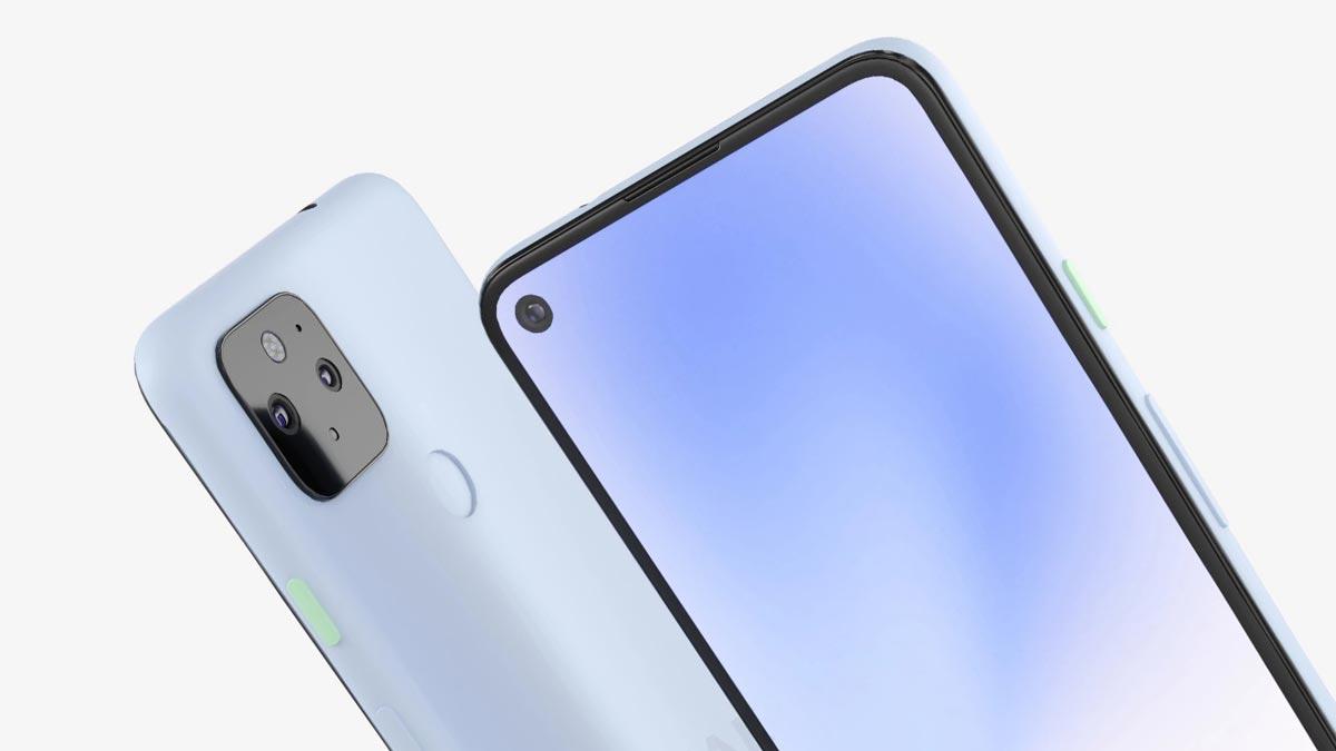 Pixel 5 XL lộ thiết kế với màn hình đục lỗ, camera kép cùng cảm biến vân tay ở mặt lưng