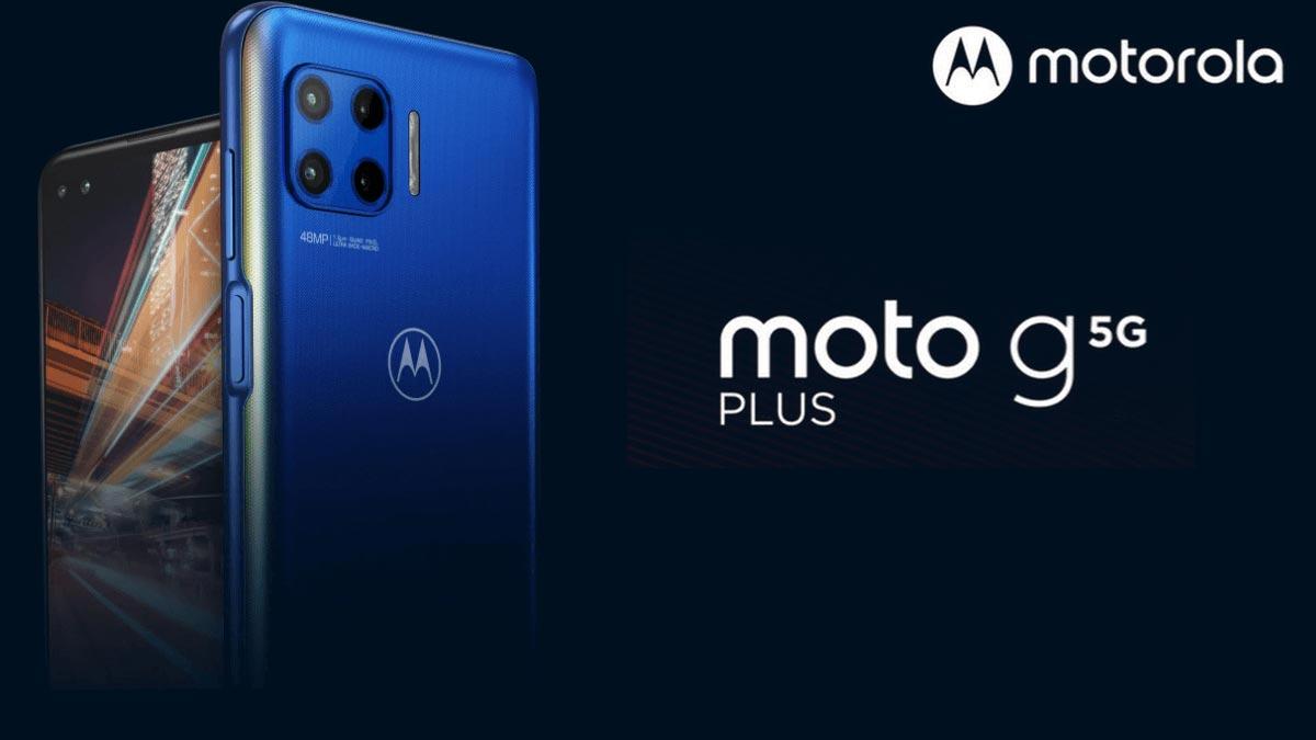 Moto G 5G Plus ra mắt: Màn hình 90Hz, 4 camera 48MP, pin 5000mAh, giá từ 9.1 triệu đồng