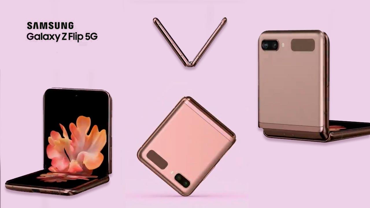 Galaxy Z Flip 5G lộ diện trong video quảng cáo chính thức của Samsung
