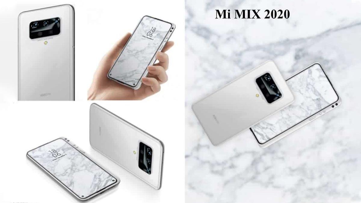 Xiaomi Mi MIX 2020 lộ diện với thiết kế độc lạ