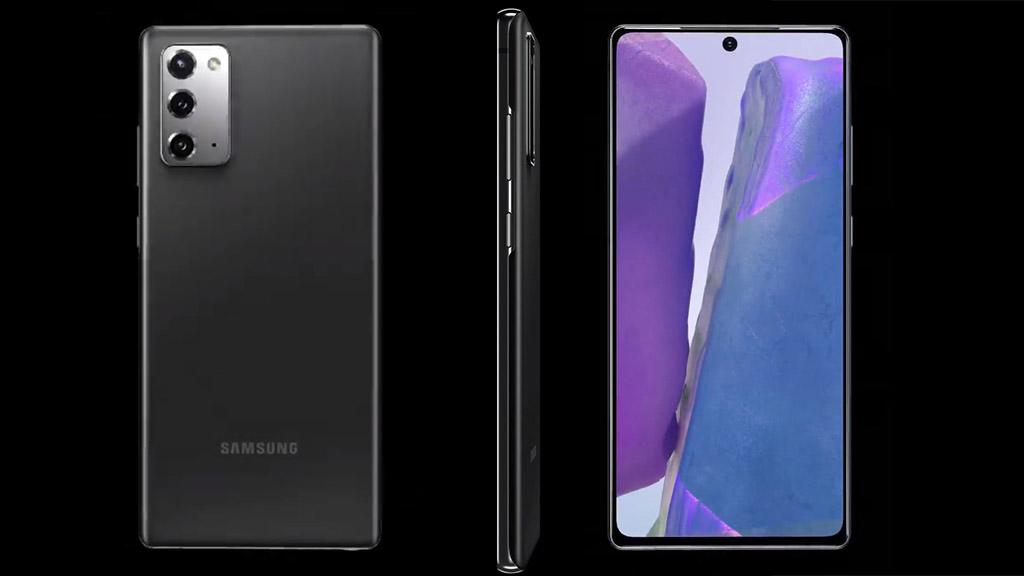 Galaxy Note 20 lộ diện trong video render 360 độ: Với thiết kế màn hình phẳng, chỉ có 3 camera sau