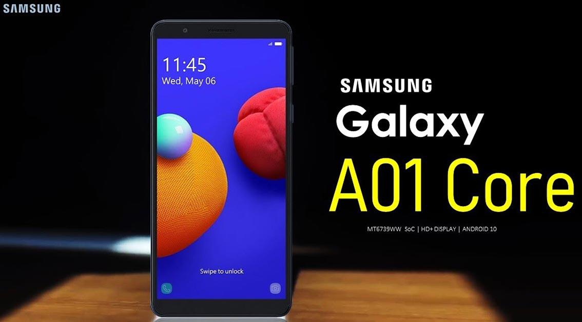 Samsung ra mắt Galaxy A01 Core: smartphone với pin có thể tháo rời