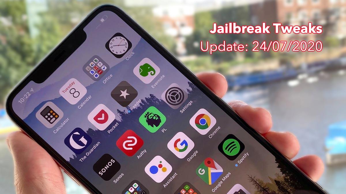 [24/07/2020] Tổng hợp một số tweak mới phát hành trong thời gian gần đây, dành cho thiết bị iOS đã jailbreak