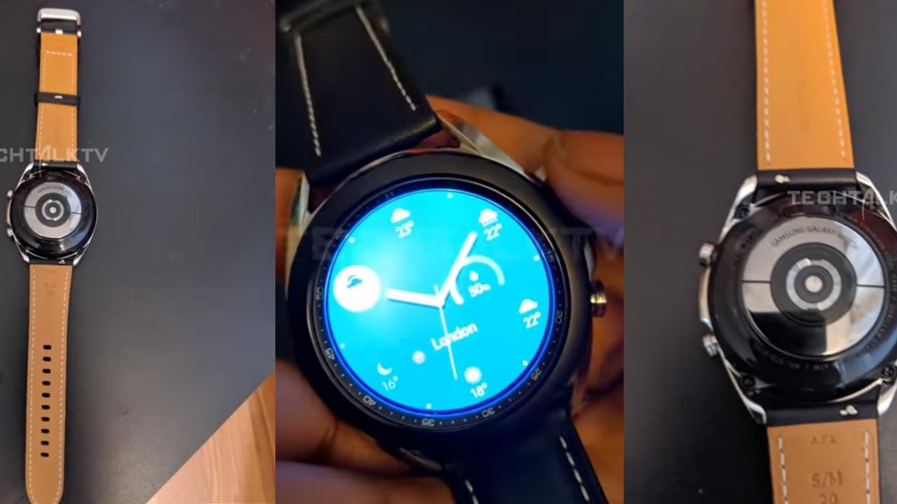 Xuất hiện Video trên tay Galaxy Watch 3 dù chưa ra mắt