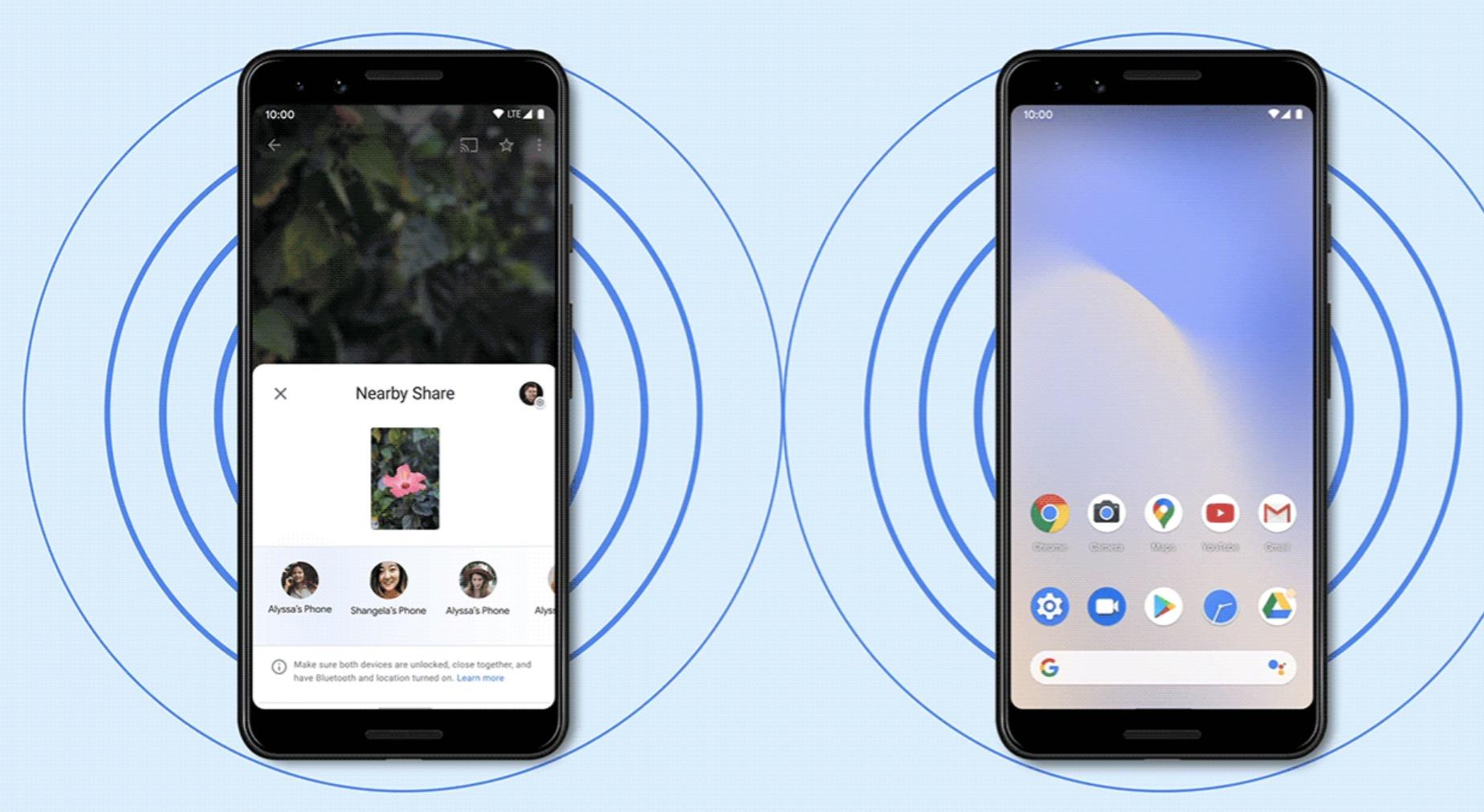 Google chính thức ra mắt tính năng Nearby Share: ''AirDrop'' của thế giới Android