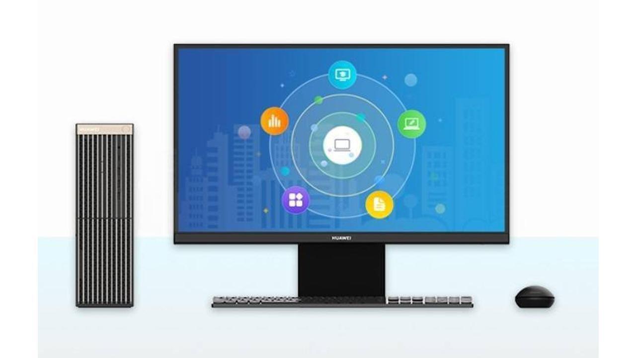 Máy tính để bàn Huawei ''cây nhà lá vườn'' của Huawei lộ diện: Chip Kunpeng 920 3211K  24 nhân, không thể cài đặt Windows