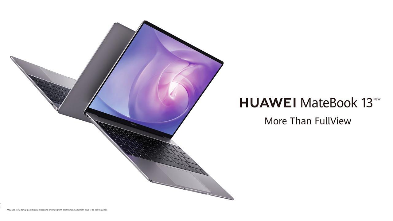 Huawei MateBook 13 ra mắt tại VN: Thiết kế cao cấp, màn hình 2K, CPU Intel thế hệ 10, giá 30 triệu
