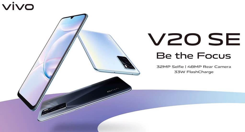 Vivo V20 SE ra mắt: Camera selfie 32MP, camera sau 48MP, sạc nhanh 33W, giá 6.7 triệu đồng