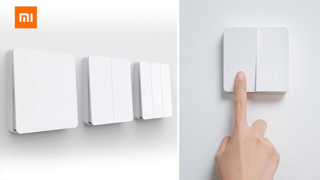 Xiaomi ra mắt công tắc đèn thông minh, giá từ 170.000 đồng
