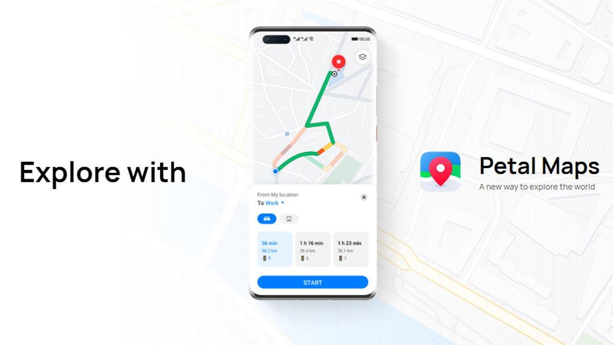 Huawei ra mắt Petal Maps và Docs, thay thế các ứng dụng trên Google Mobile Sevices