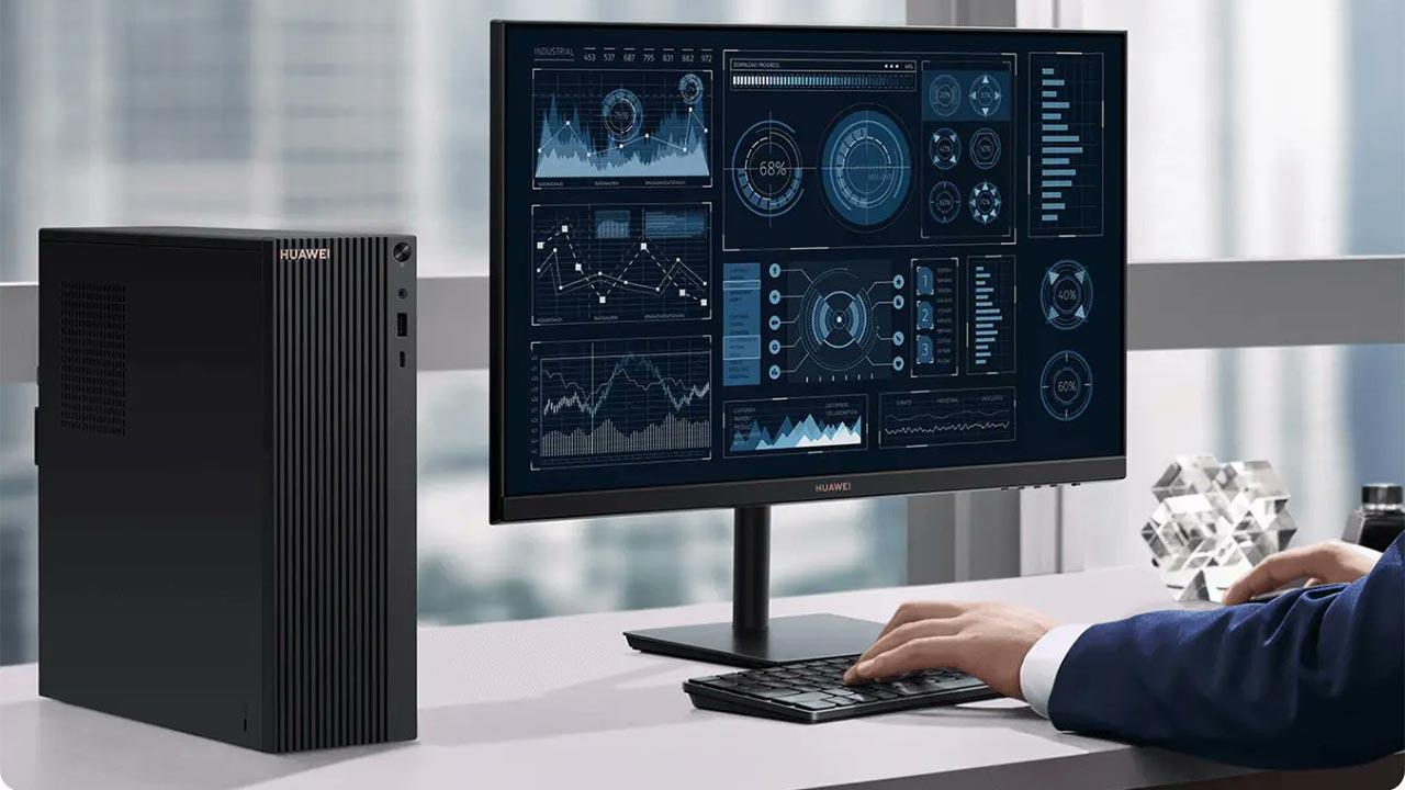 Huawei ra mắt MateStation B515: PC đầu tiên sử dụng chip AMD Ryzen 4000 series, RAM 16GB, màn hình 23.8 inch