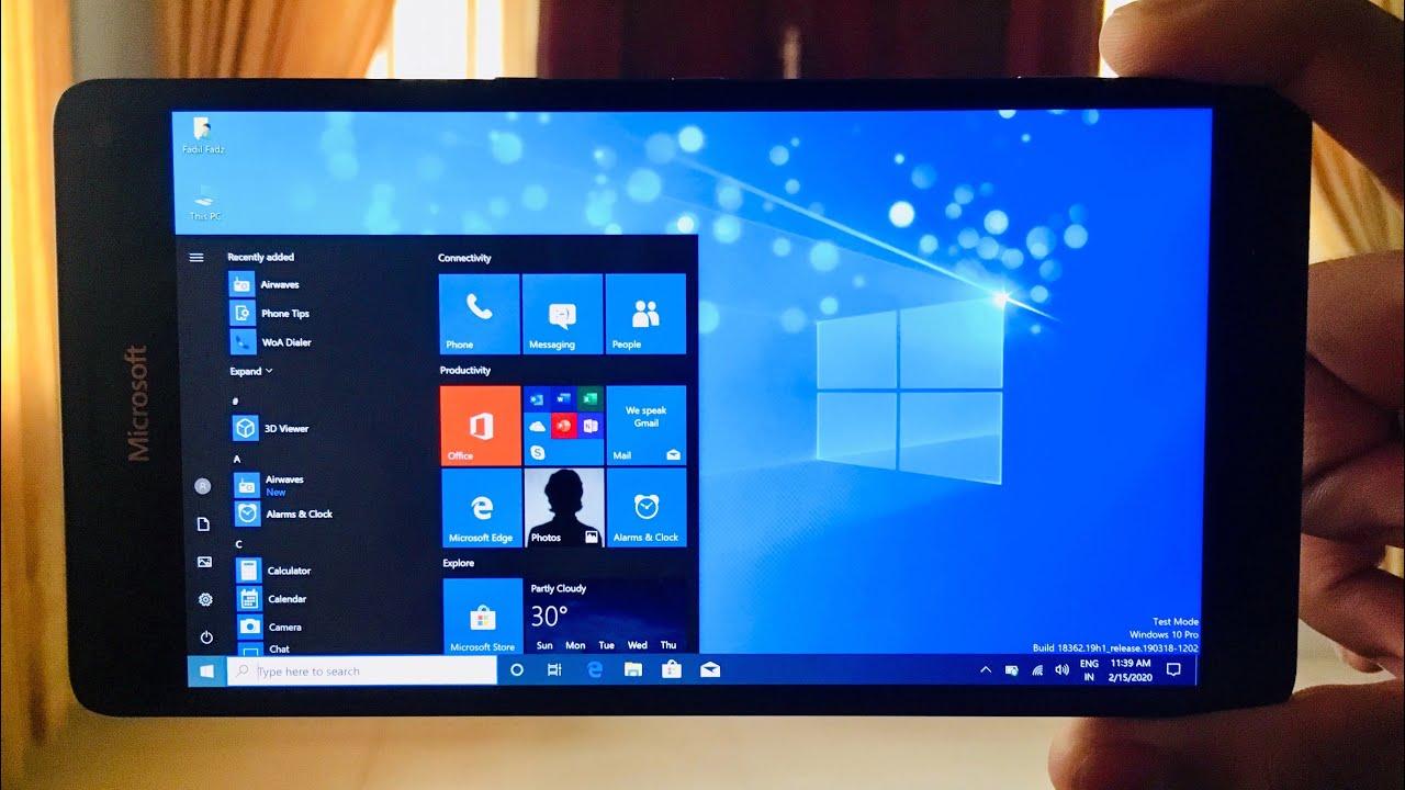 Smartphone Lumia cài Windows 10 ARM có thể chạy được cả Photoshop