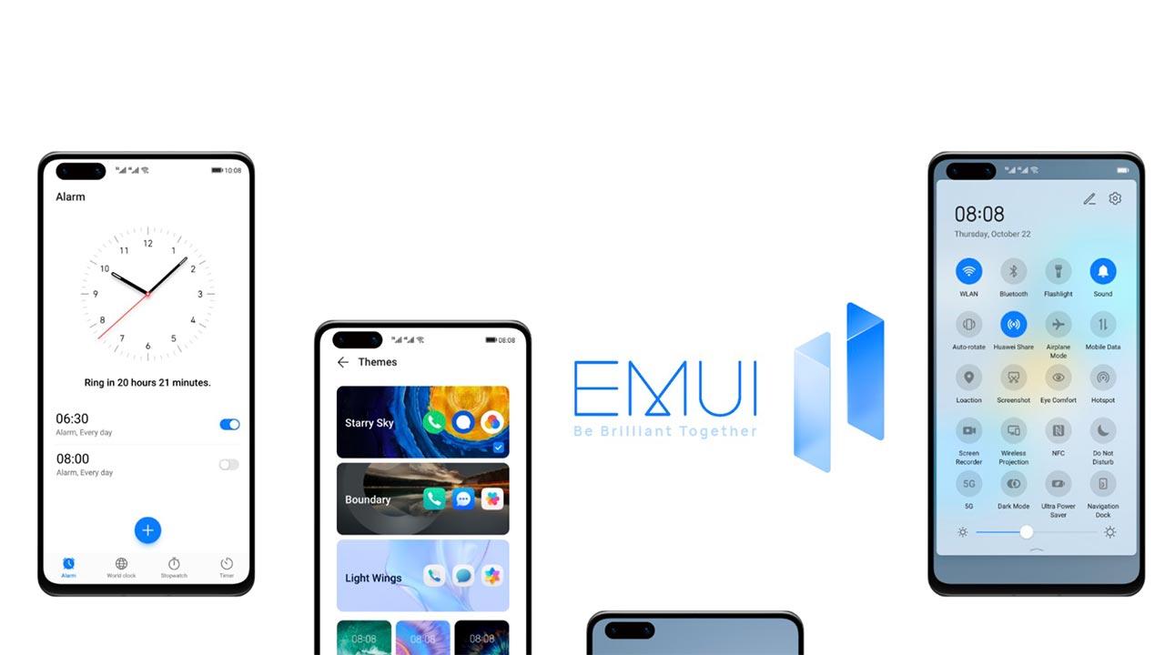 Huawei chính thức công bố danh sách thiết bị cập nhật EMUI 11