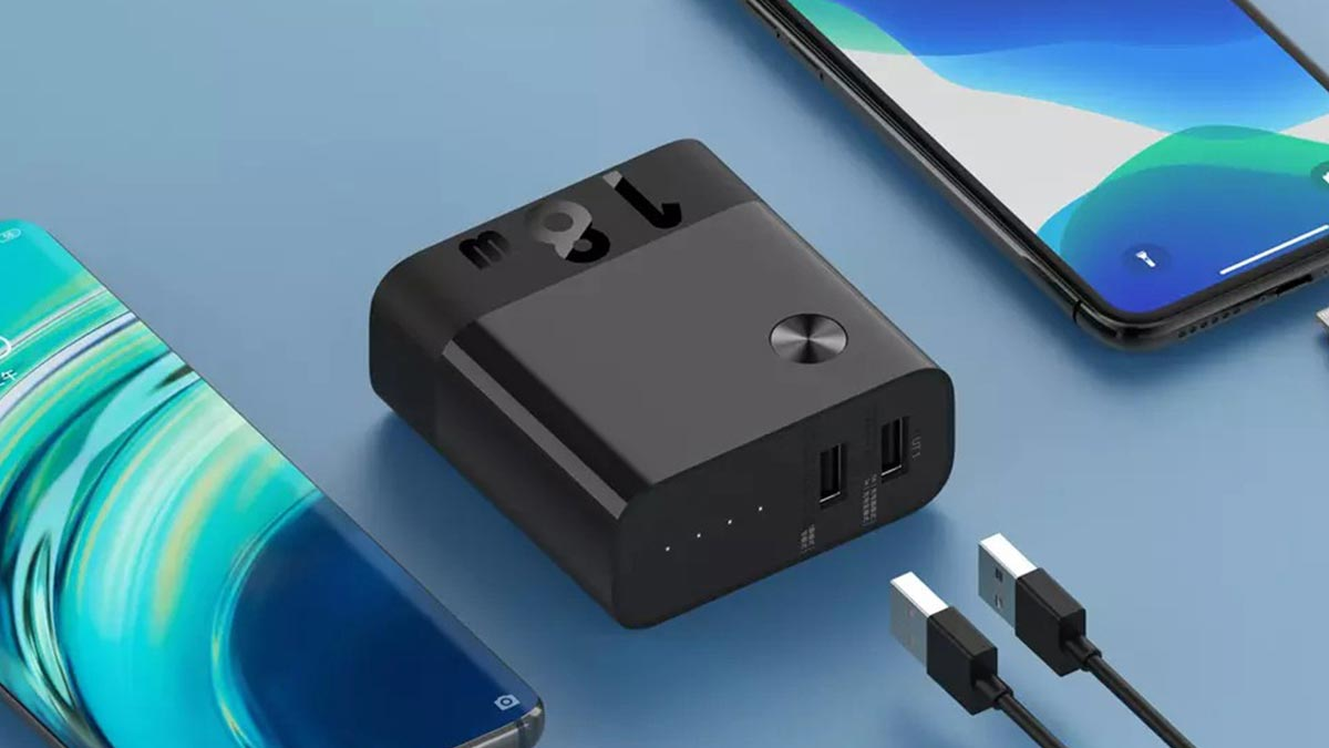 Xiaomi ra mắt củ sạc tích hợp pin dự phòng: 5000mAh, sạc nhanh 18W, 2 cổng USB-A, giá 450.000 đồng