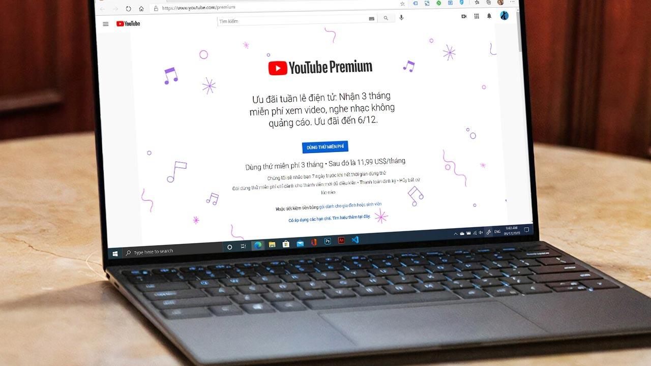 Hướng dẫn Fake ID để đăng ký nhận 3 tháng miễn phí dich vụ YouTube Premium