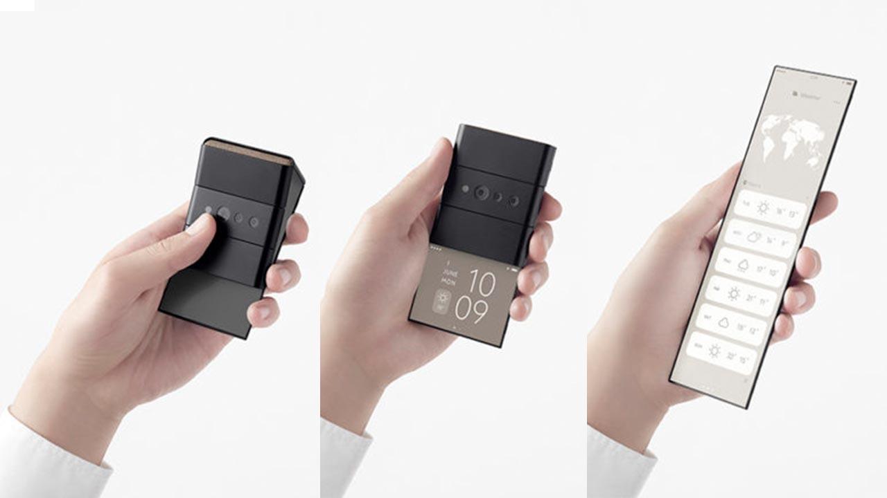 OPPO trình làng concept smartphone với kích thước màn hình 7 inch gập lại nhiều lần, chỉ nhỏ gọn gọn bằng chiếc thẻ visa