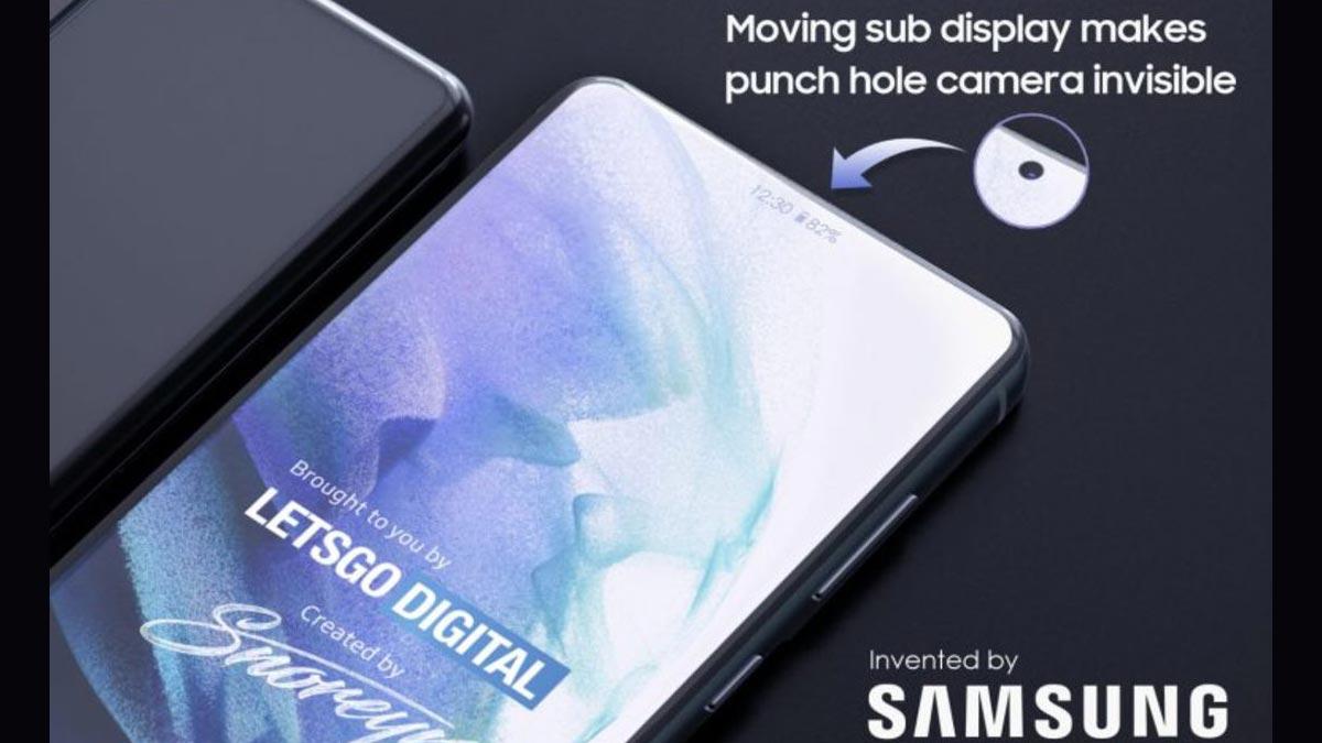 Galaxy S thế hệ mới vào năm 2022 sẽ có cơ chế camera ẩn dưới màn hình có thể di chuyển?