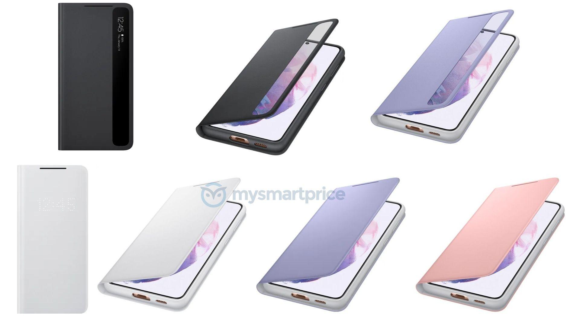 Lộ diện toàn bộ ốp lưng của Galaxy S21 series trước ngày ra mắt