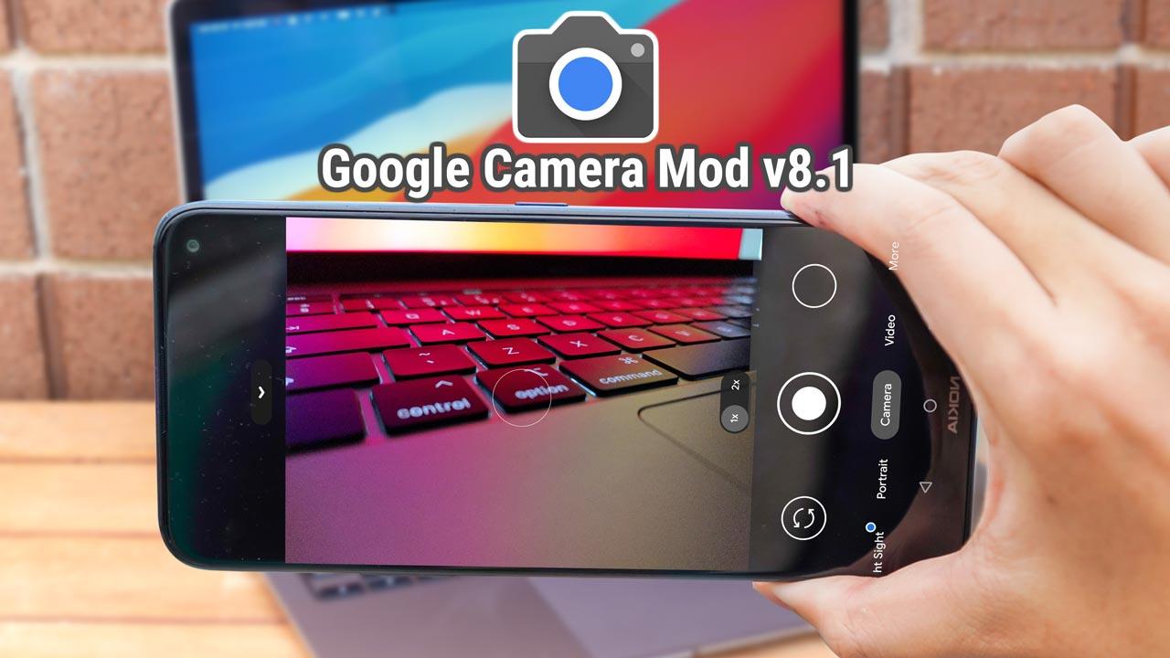 Chia sẻ file cài đặt Google Camera 8.1 dành cho nhiều dòng máy Android, mời anh em tải về