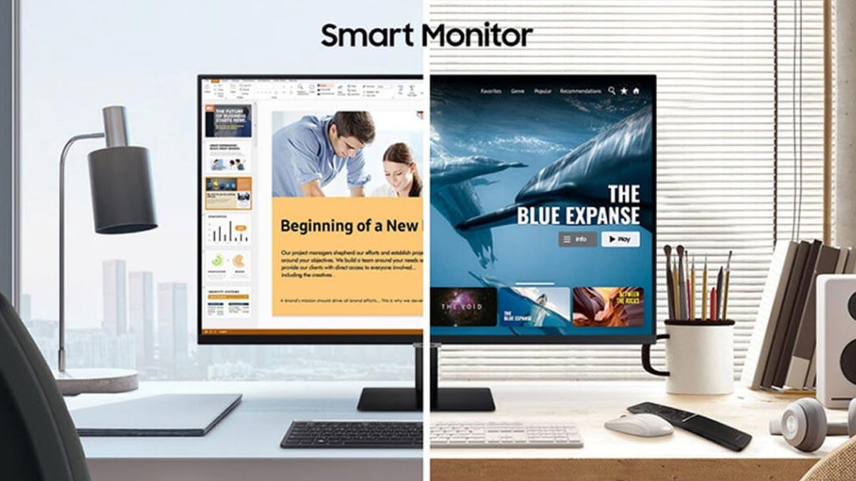 Samsung ra mắt màn hình thông minh M5 và M7: có thể biến thành smart TV chạy Tizen OS, độ phân giải 4K, giá từ 230 USD