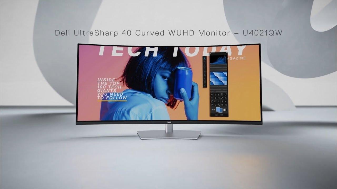 Dell ra mắt màn hình UltraSharp 40 inch: Ultrawide, độ phân giải 5K, giá gần 50 triệu đồng