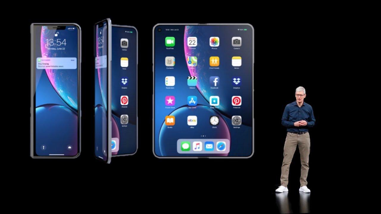 Apple đang phát triển iPhone màn hình gập, và thế hệ iPhone mới có cả Touch ID trong màn hình