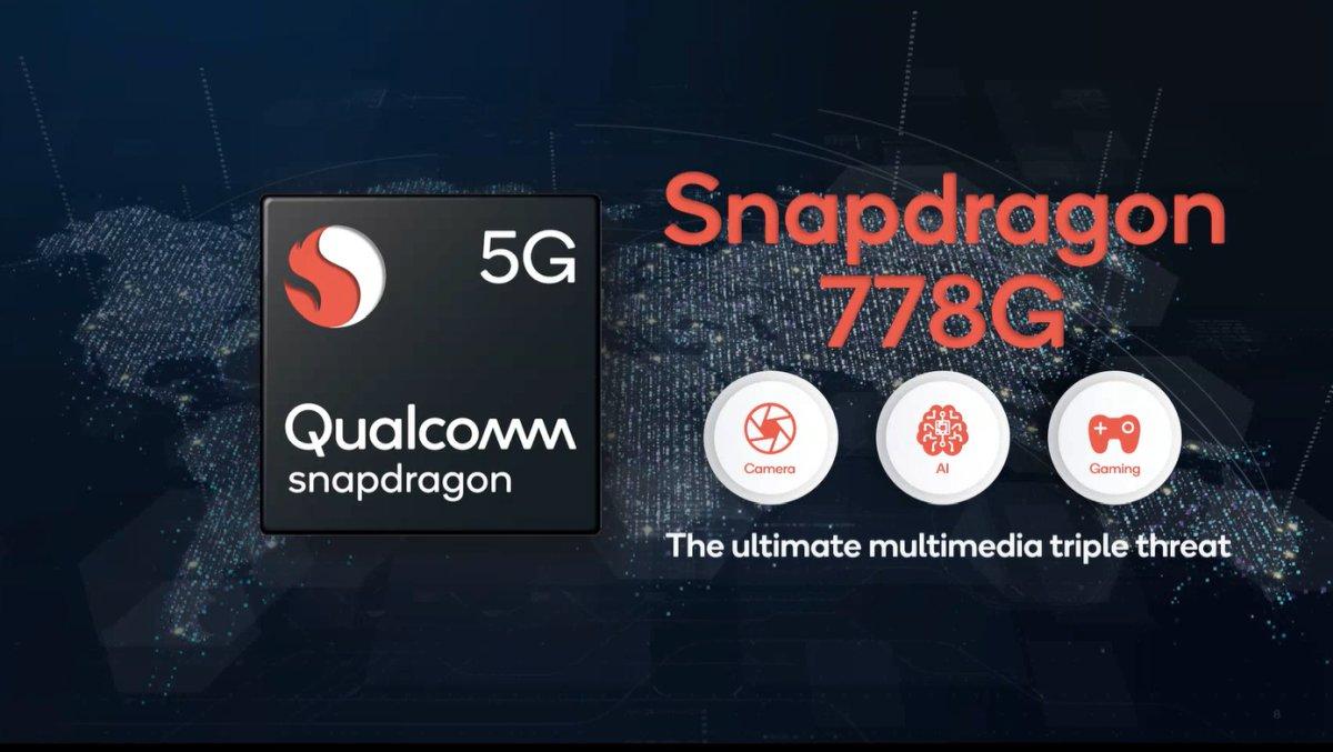 Qualcomm ra mắt chip xử lý tầm trung Snapdragon 778G 5G